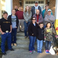 The Church of Jesus Christ of Latter-Day Saints Members Work to Beautify Ridgeway