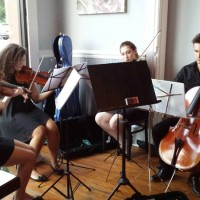 The Four Scores Quartet at First Friday for August