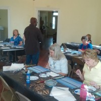 Fairfield County Arts Council Hosts Artist Darwin Murphy for an Acrylics Class