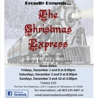 Pine Tree Playhouse Presents The Christmas Express